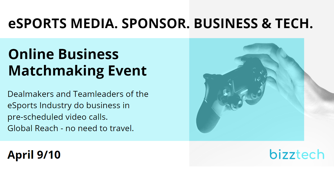 eSPORTS MEDIA. SPONSORS. BUSINESS. & TECH.