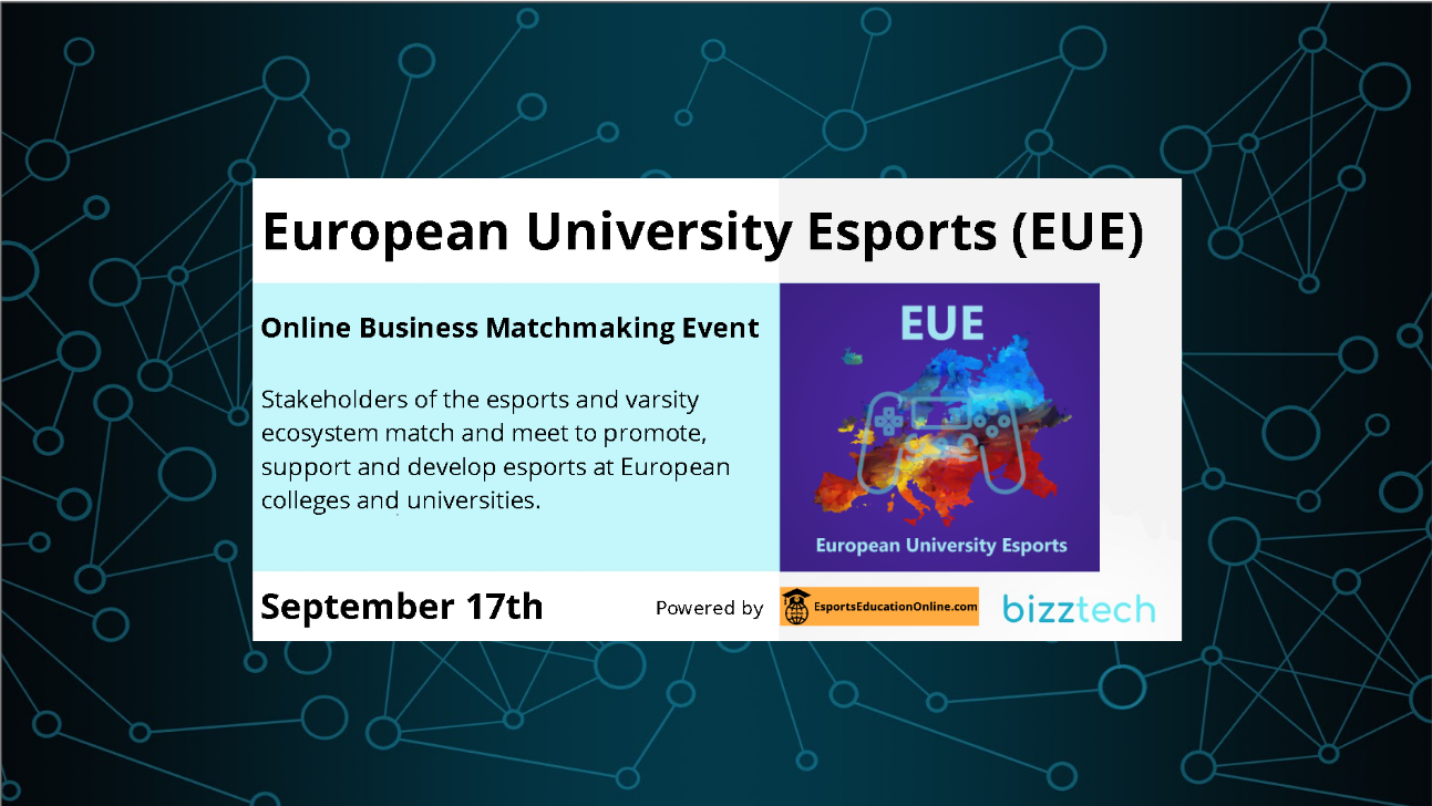 Business matchmaking event for Esports in Europe