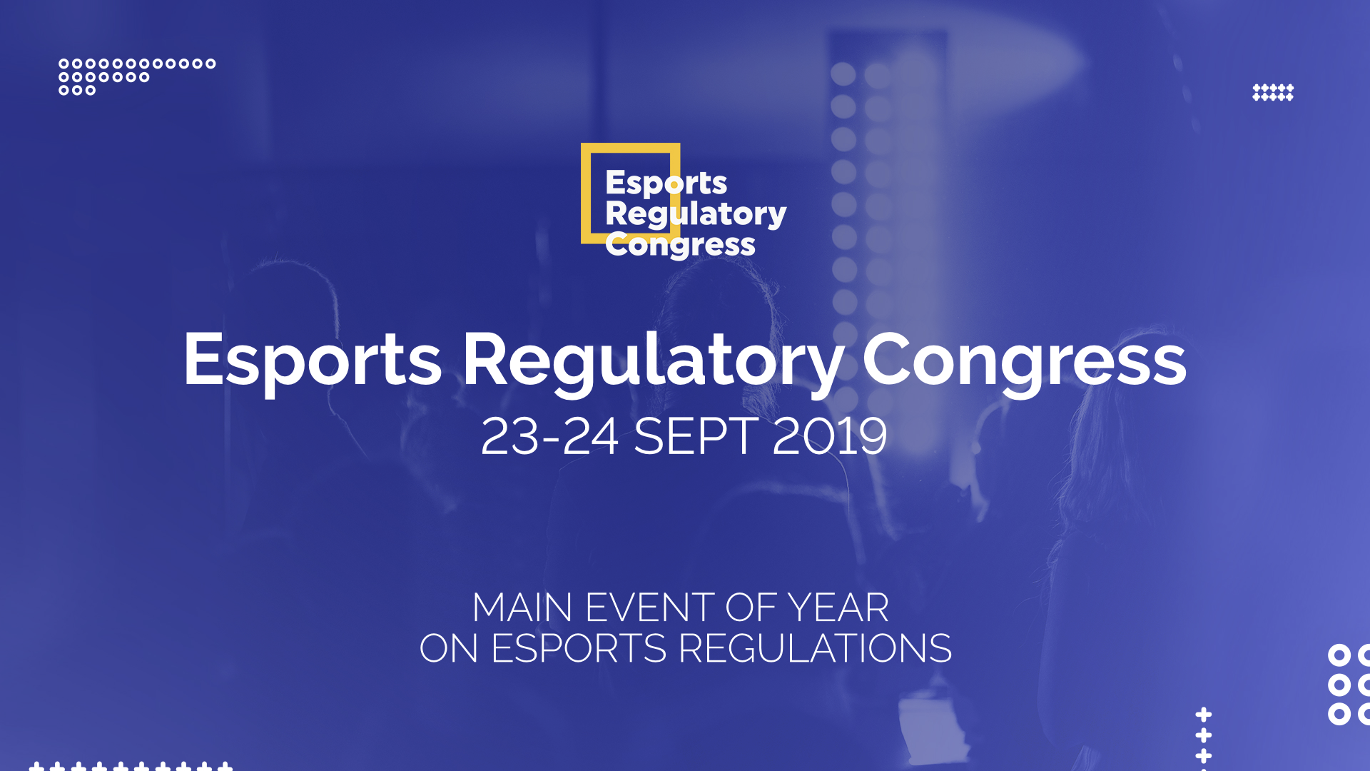 First International Esports Regulations Event to be held in Europe