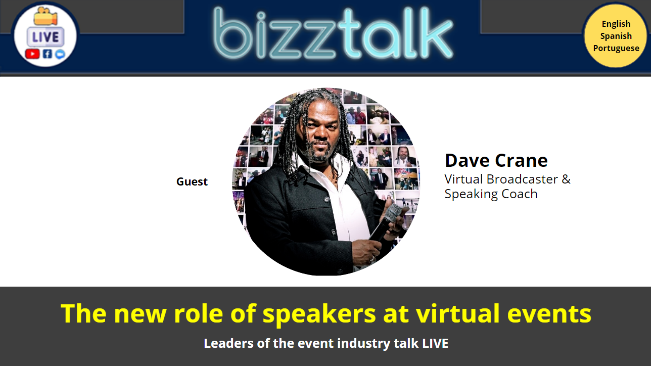 The new role of speakers at virtual events
