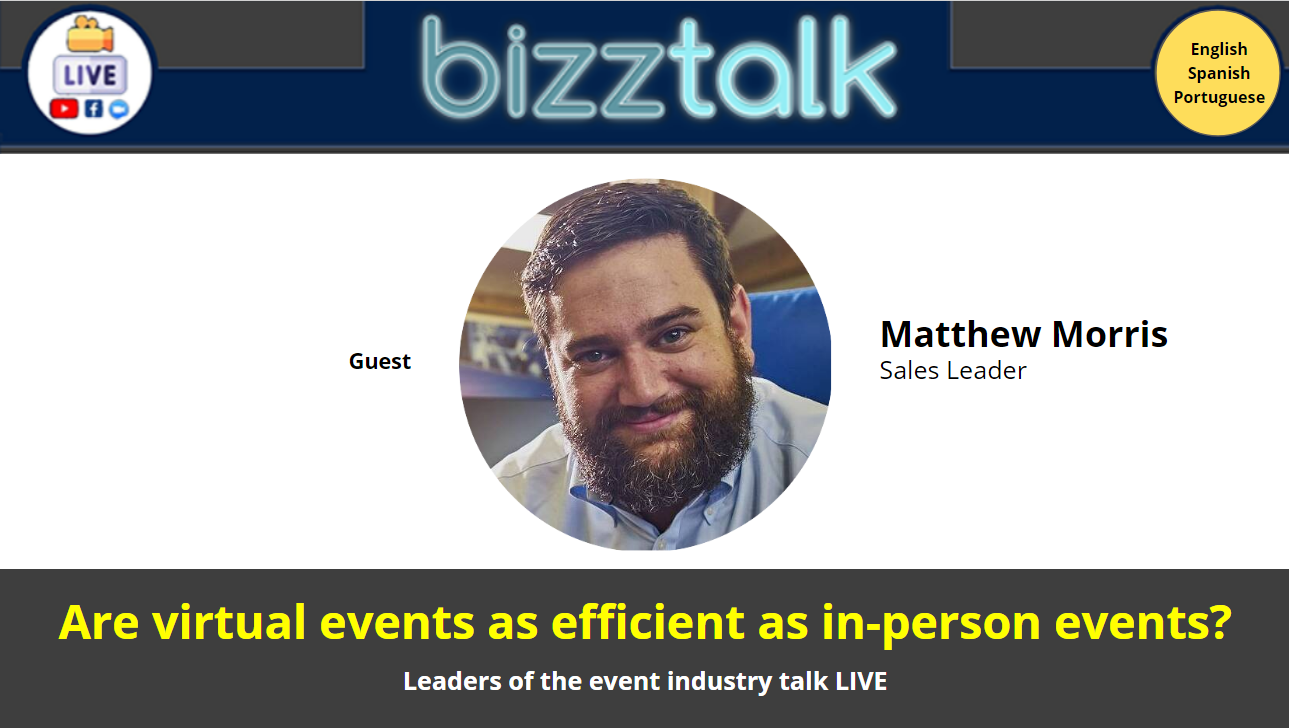 Are virtual events as efficient as in-person events?