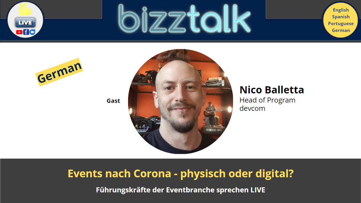 Events nach Corona – physisch oder digital?