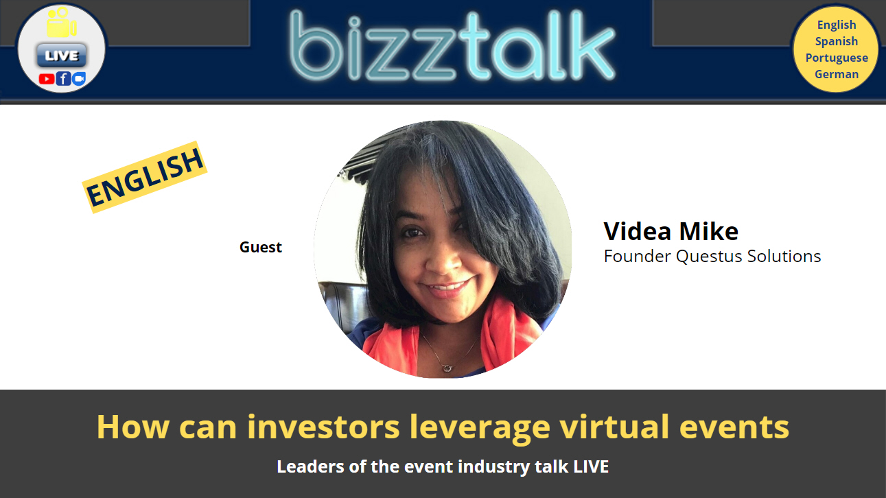 How can investors leverage virtual events