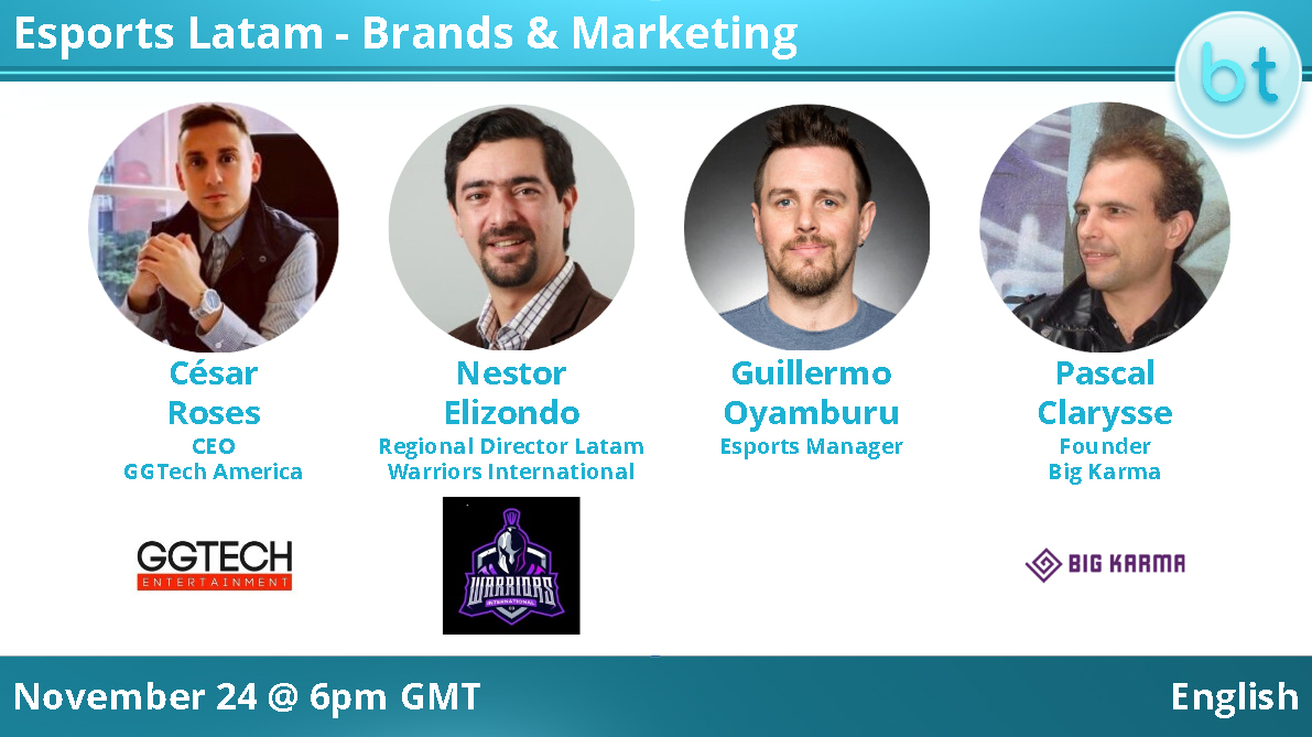 Esports Latam – Brands & Marketing