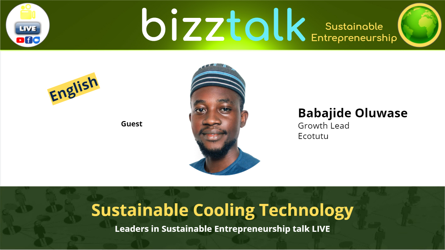 Sustainable Cooling Technology