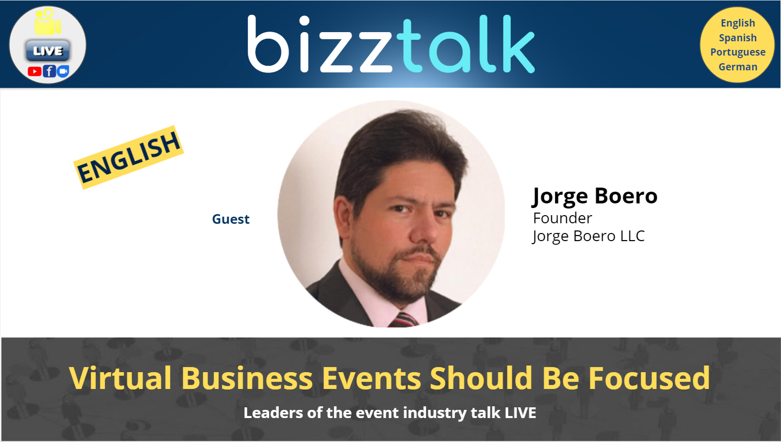 Virtual Business Events Should Be Focused